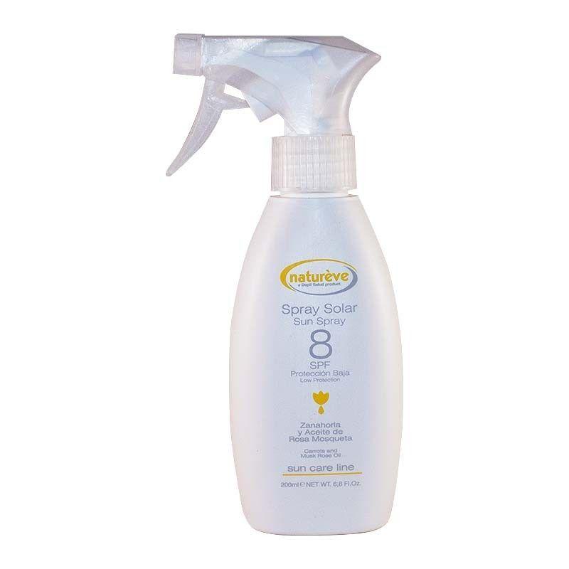 Spray Solar SPF 8